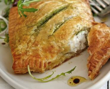 Tong 'Wellington' met pesto